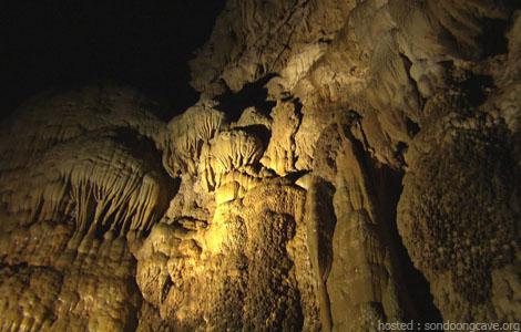 giant stalactites