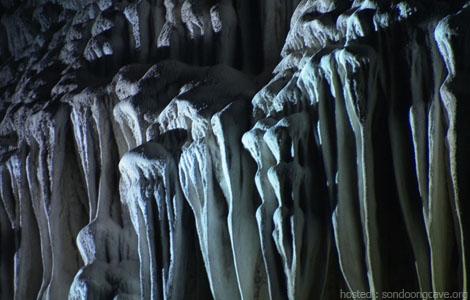 Perennial stalactites